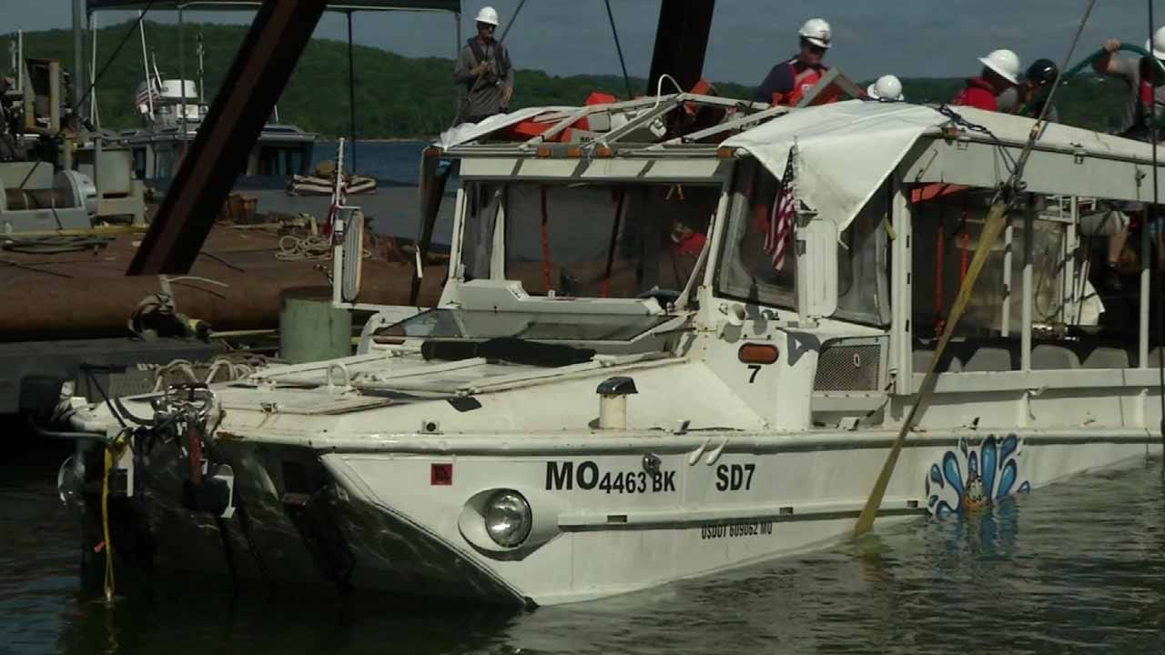 Criminal Negligence Could Be Considered In Fatal Branson Duck Boat Sinking