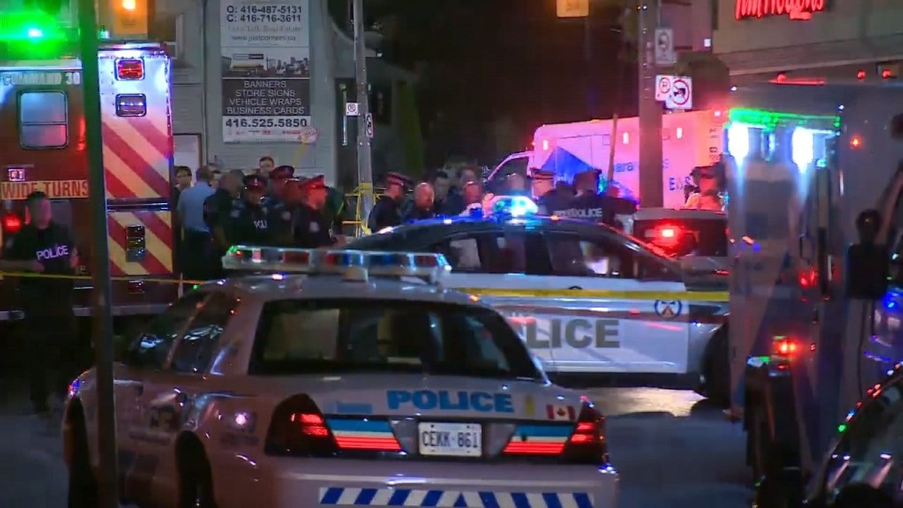 Toronto Shooting Leaves 2 Dead, 12 Wounded, Gunman Dead