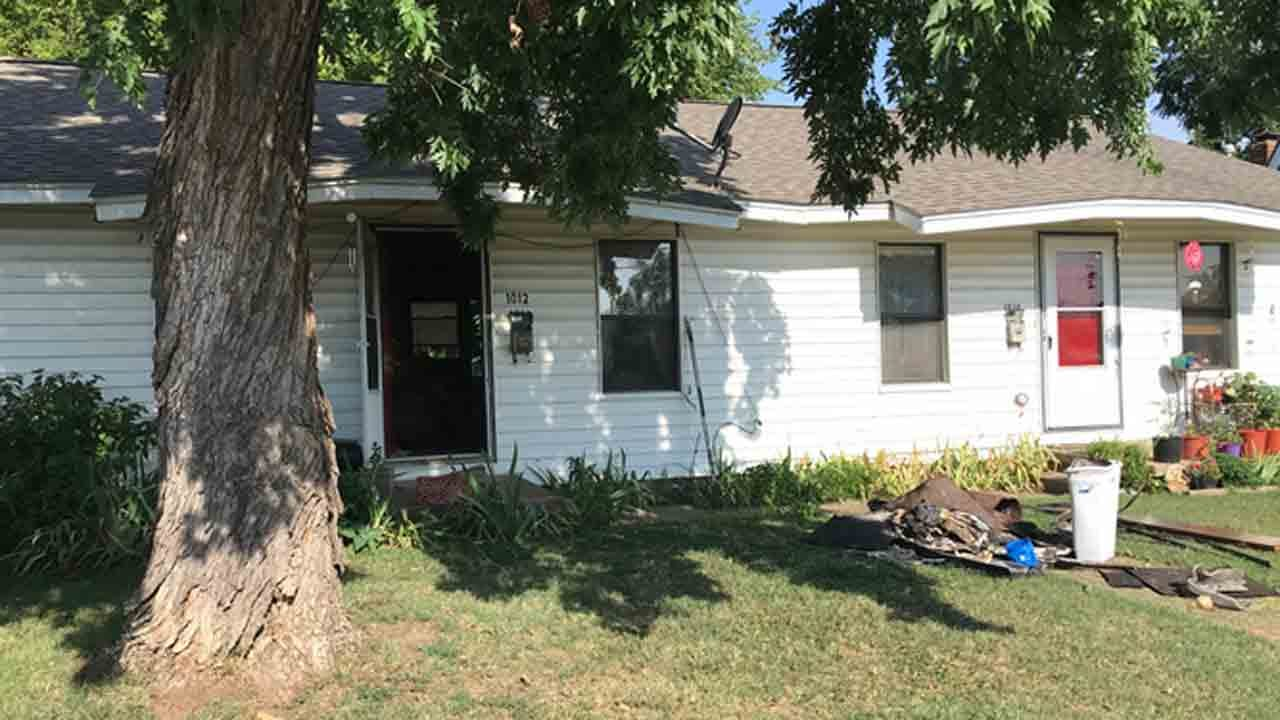 Elderly Tulsa Man, Dog Safe After House Fire
