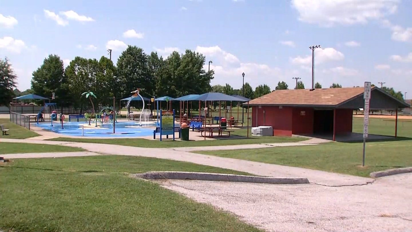 Police Searching For Suspect In Attempted Abduction At Grove Splash Pad
