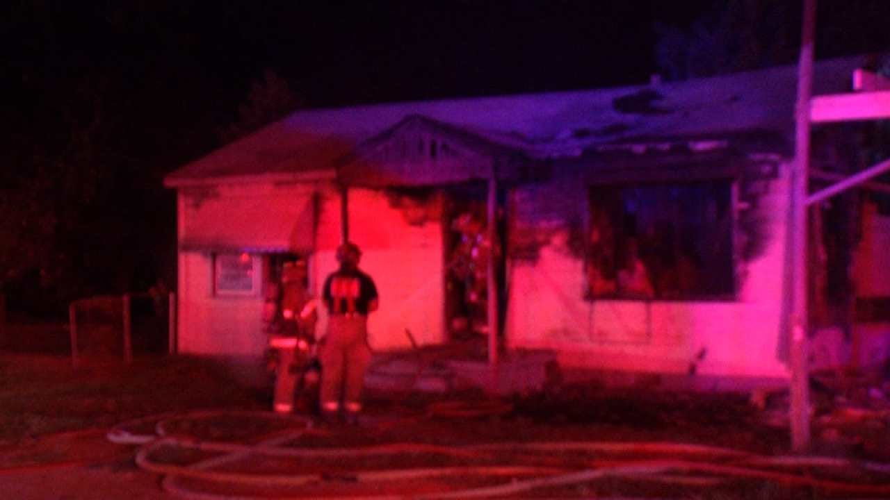 Vacant Tulsa Home Damaged By Fire