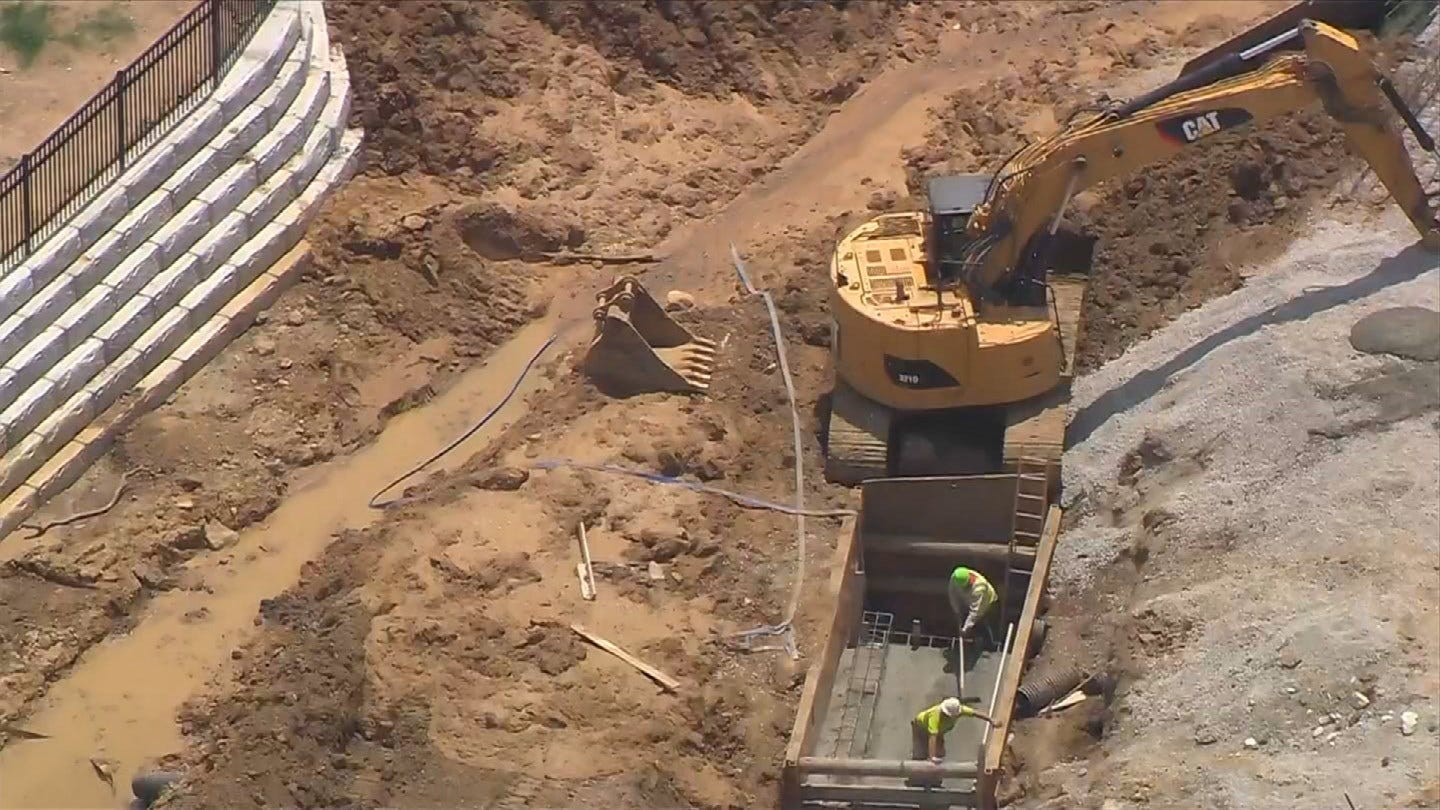 Crews Unable To Find Leaking Natural Gas Well In Tulsa