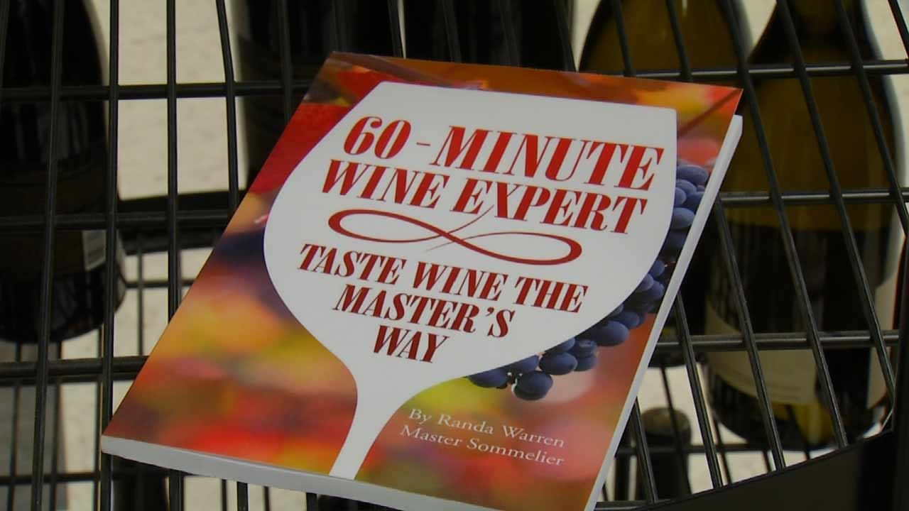 New Book By Local Wine Expert Gives Tips, Tricks To Become An Expert
