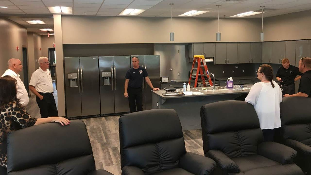 Sand Springs Firefighters Move Into New Fire Station