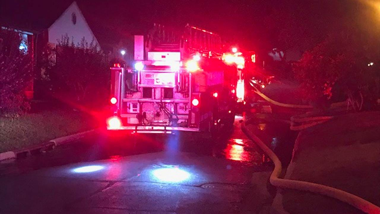 No Injuries Reported After Fire Damages Tulsa Home