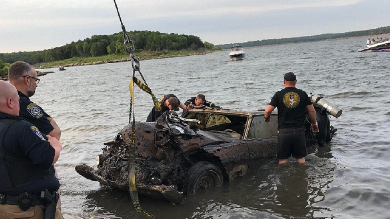 OHP Pulls Mystery Buick From Bottom Of Keystone Lake