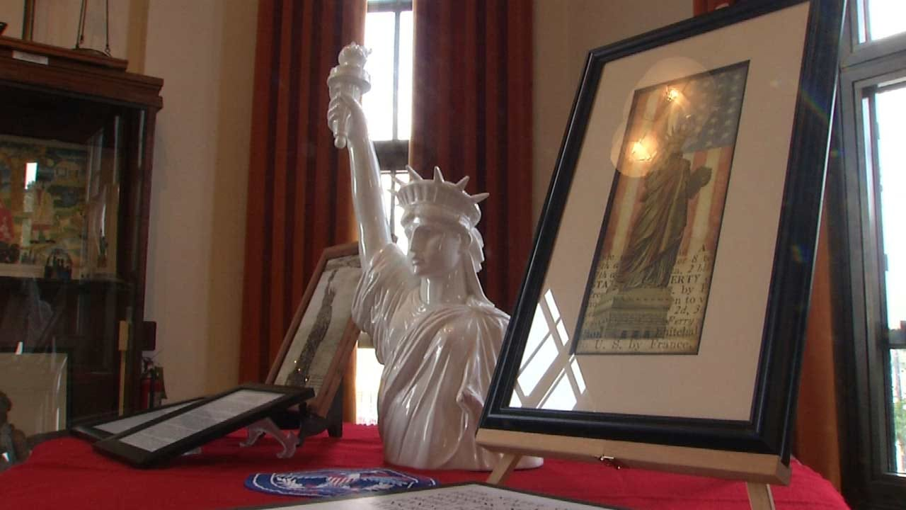 Sand Springs Historical Museum Holding 'Lady Liberty' Exhibit
