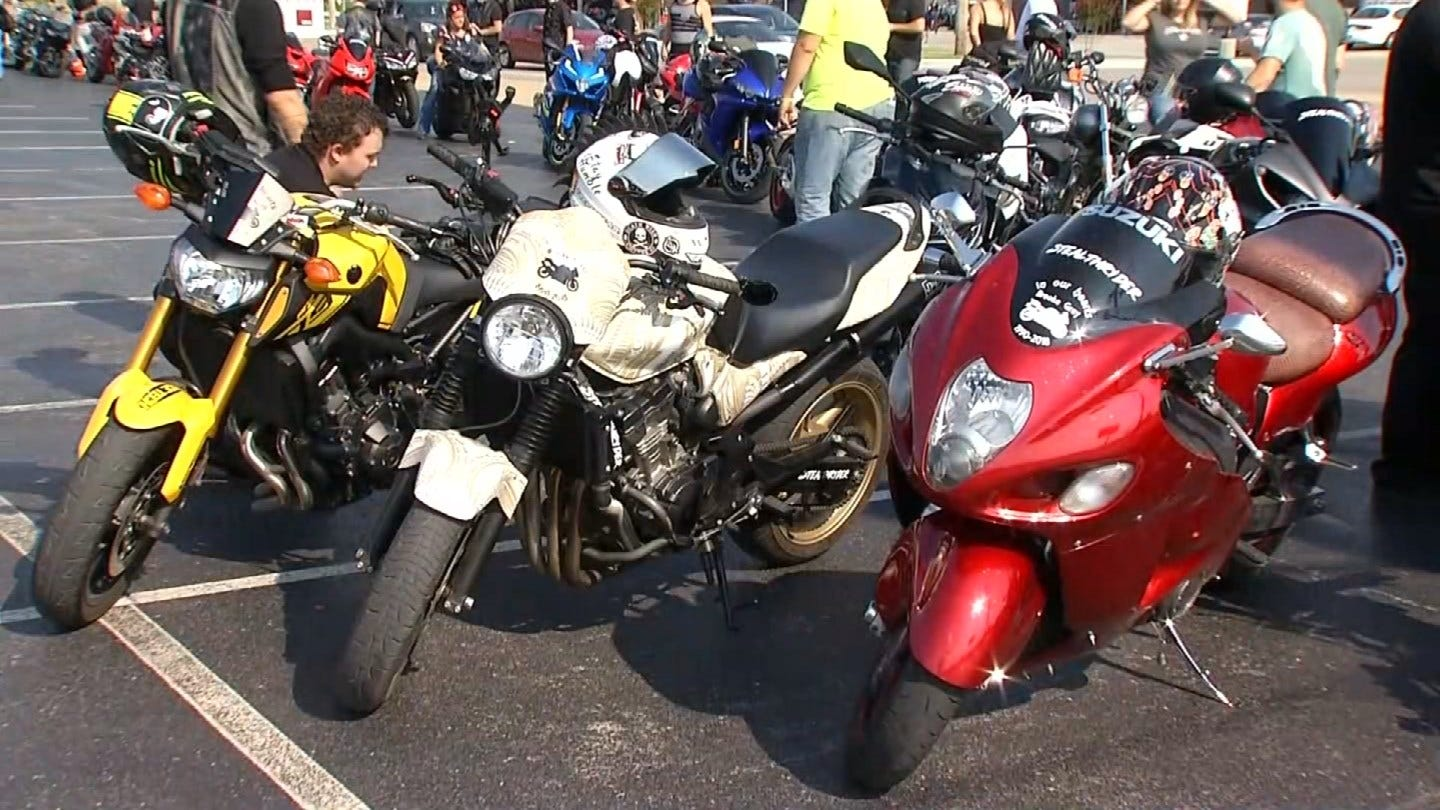Memorial Motorcycle Ride Held For Woman Struck By Semi
