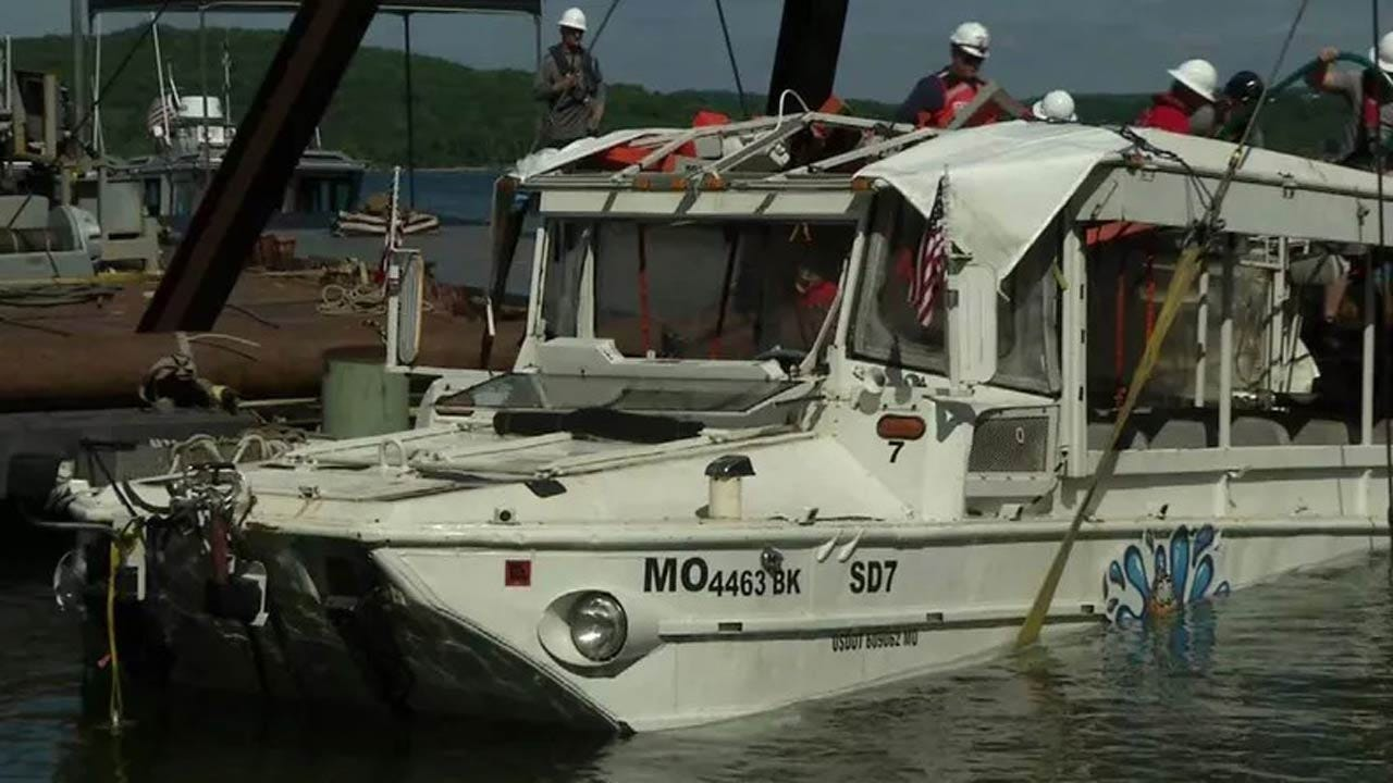 NTSB Cites Weather, Canopy & Coast Guard Failure As Causes For Deadly Duck Boat Sinking