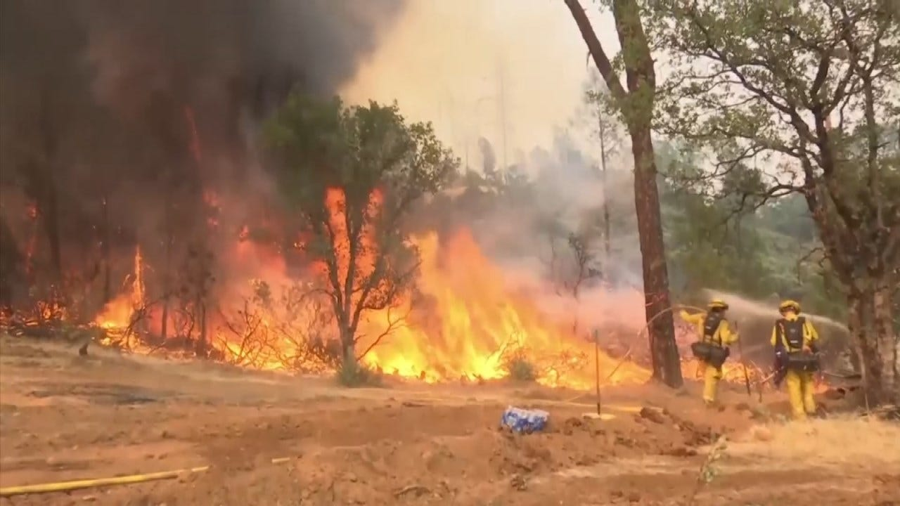 Deadly Northern California Wildfire Slowing Down