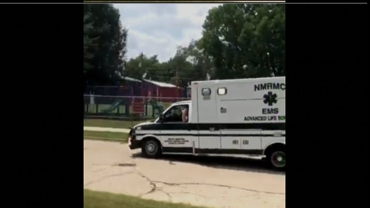 Man Shot By Officer As He Steals Ambulance In Chanute, Police Say