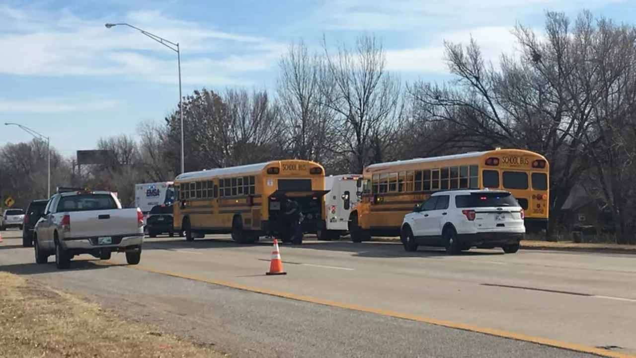 Man Sues Tulsa Public Schools After Bus Wreck