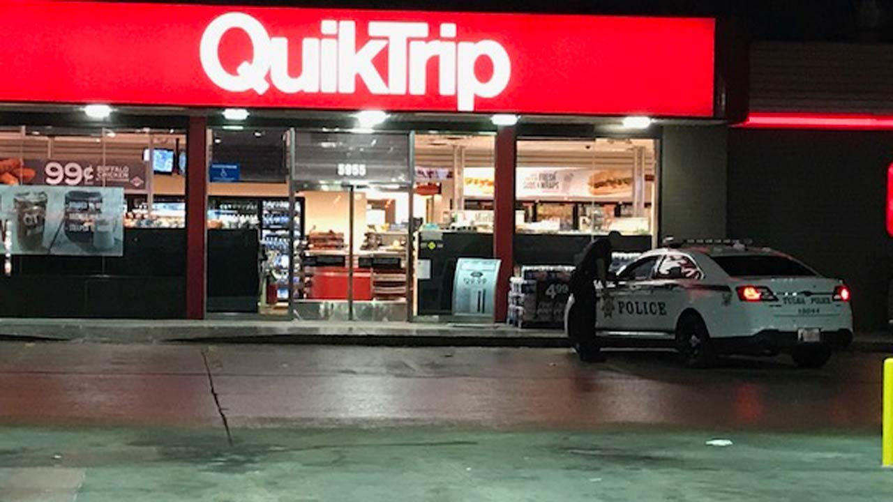 Police: Weapon Implied During Tulsa Convenience Store Robbery