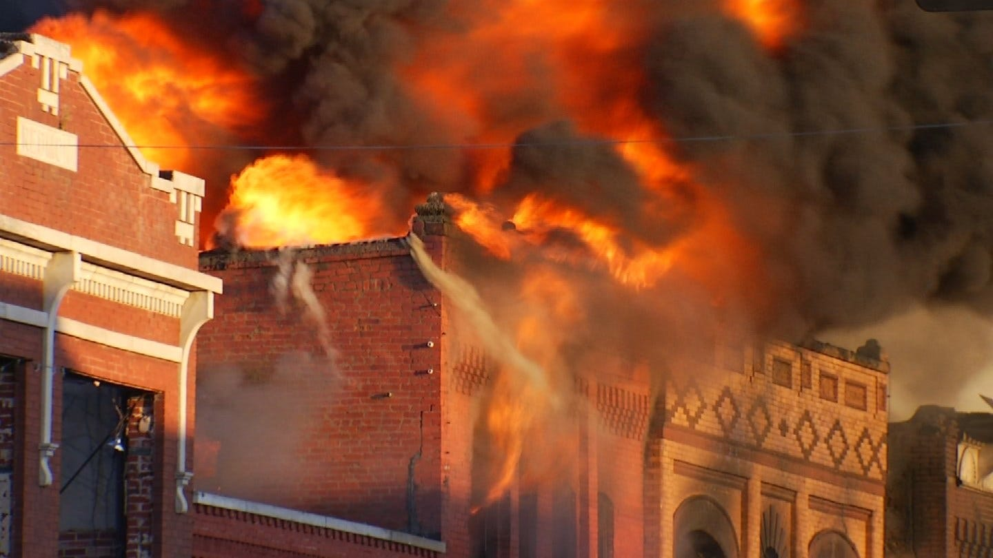 Wagoner To Preserve, Rebuild Historic Buildings Destroyed By Fire