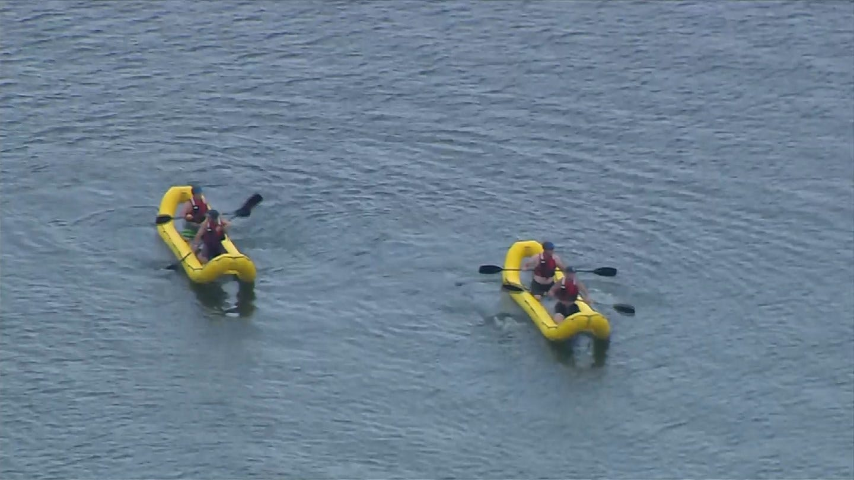 TFD Cadets Undergo Water Rescue Training