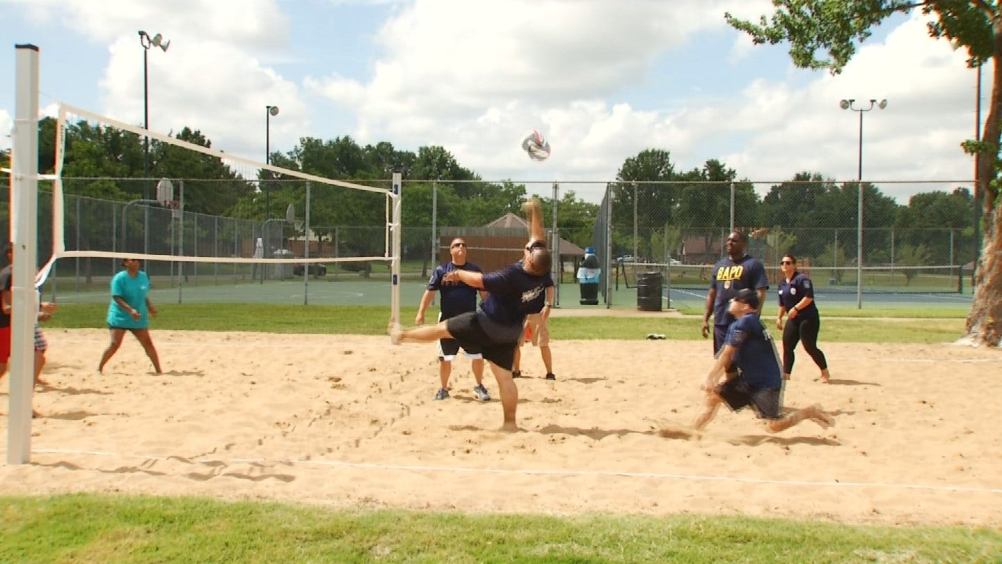 BAPD Officers Get Rematch After Loss To Family On Memorial Day