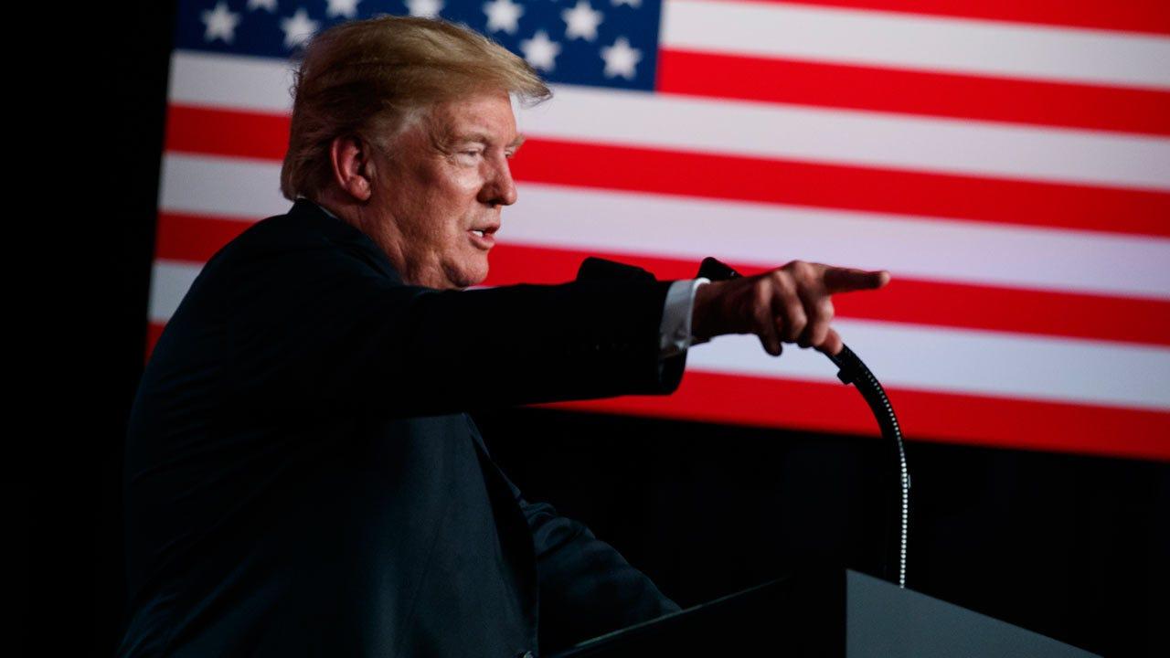 President Trump Says U.S. Warship Destroyed Iranian Drone