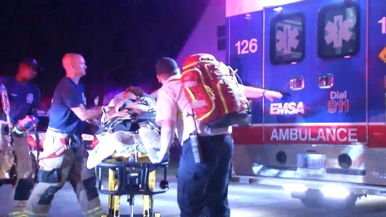 15-Year-Old Tulsa Girl Shot In The Chest