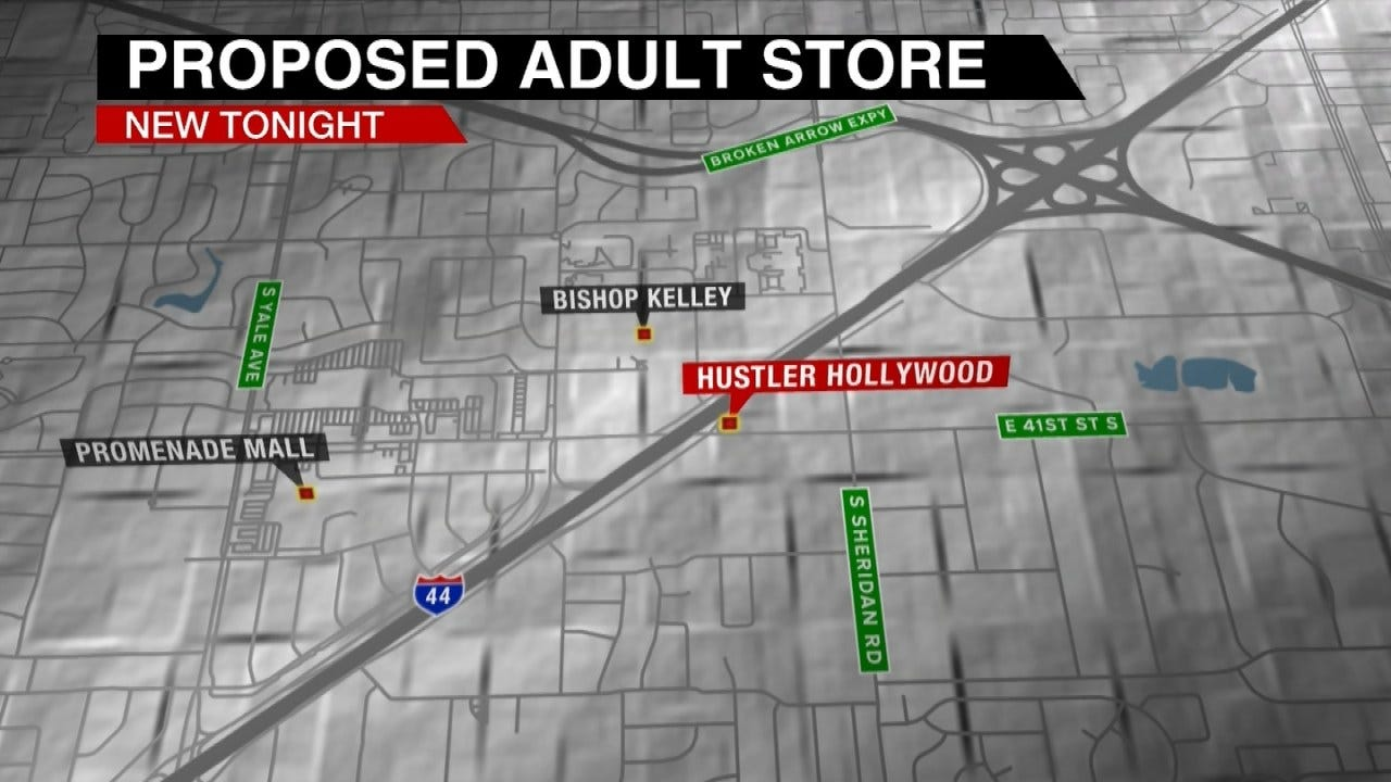 Bishop Kelley Officials Pushing Back Against Rumored Adult Store