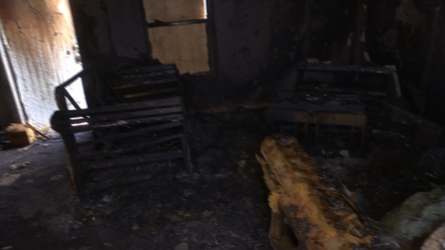 Couple Loses Home In A Fire On The 4th Of July