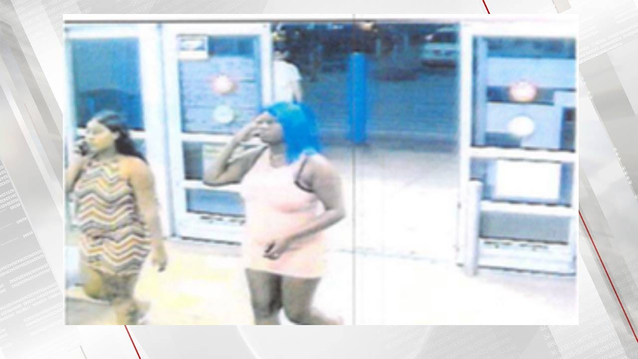 Okmulgee Police Looking For Two Women Suspected In Walmart Theft