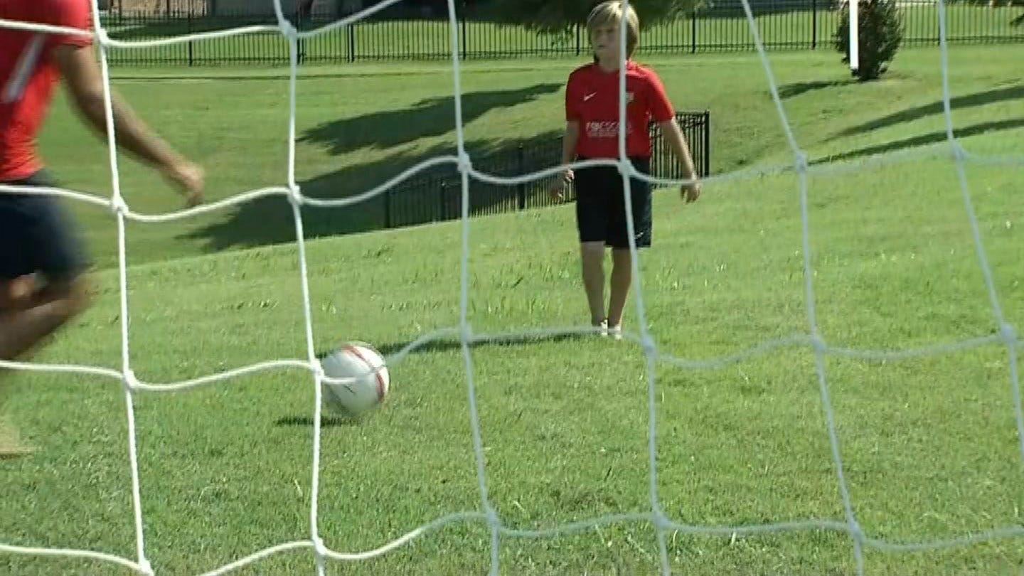 Spain's FC Barcelona Hosts 3rd Annual Tulsa Soccer Camp
