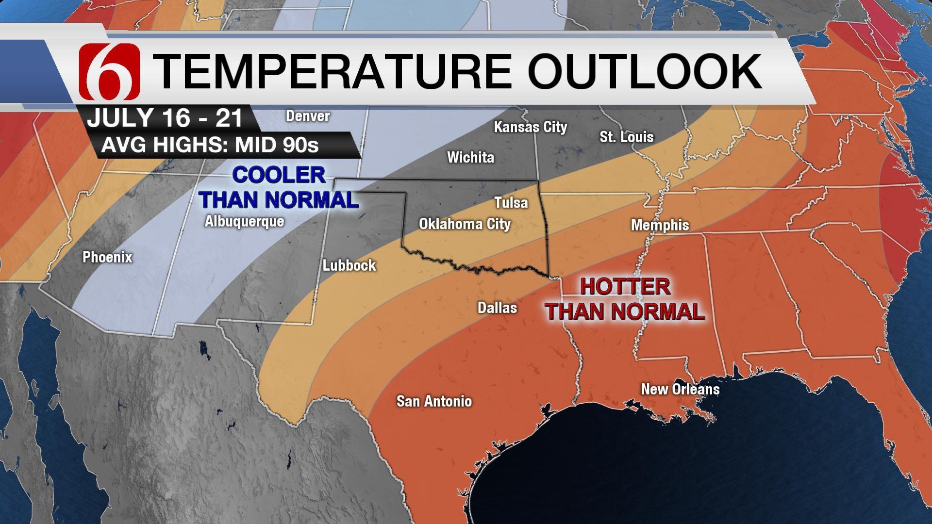 Summer Storms Return, So Does Triple-Digit Heat