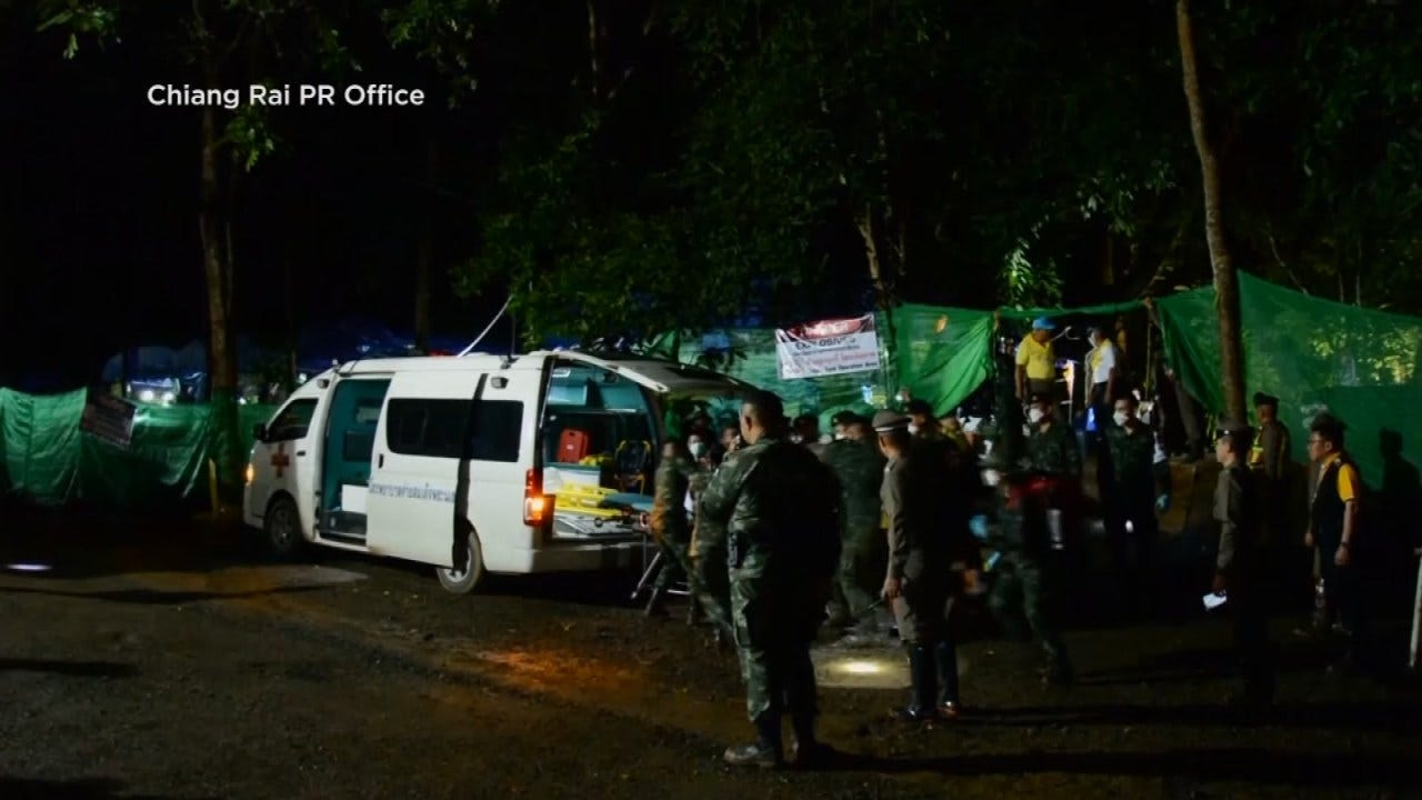 8th Boy Rescued From Thailand Cave In Second Rescue Operation