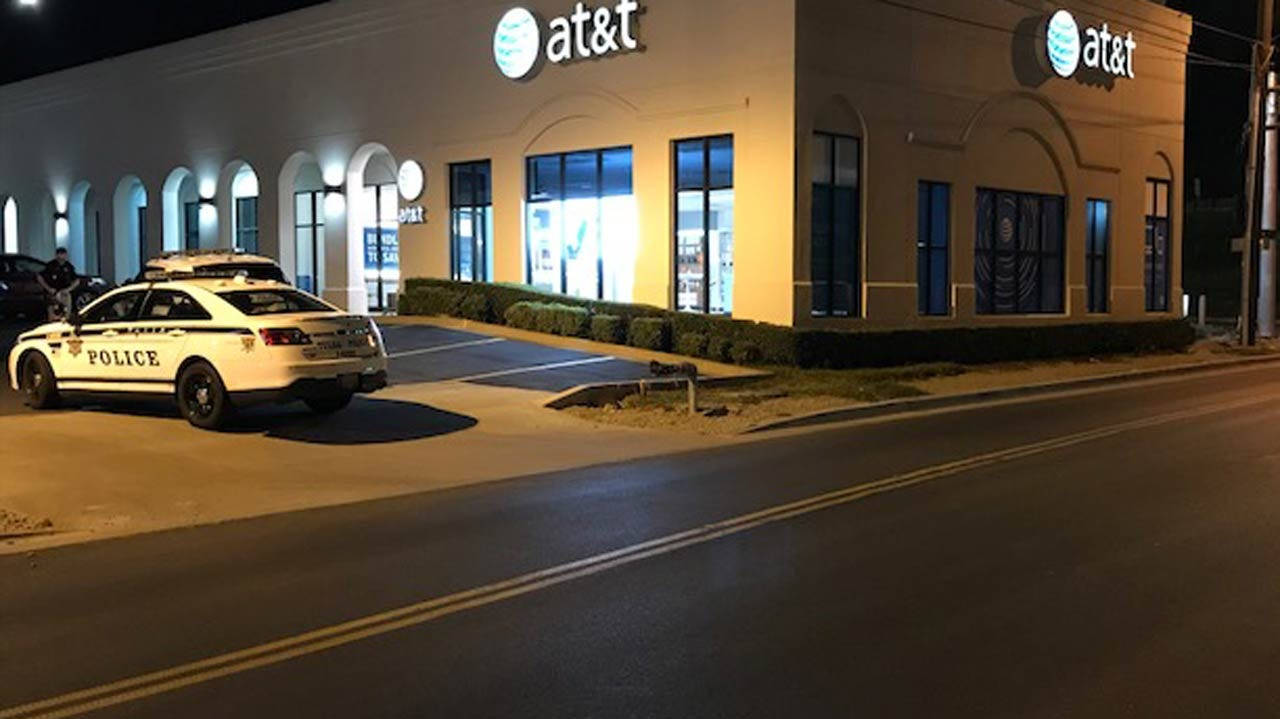 Police: Tulsa AT&T Store Burglary Took Only 60 Seconds