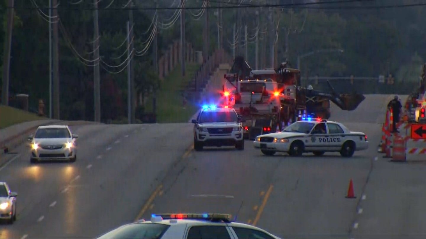 Road Opened Again After Gas Leak Contained, Repairs Continue