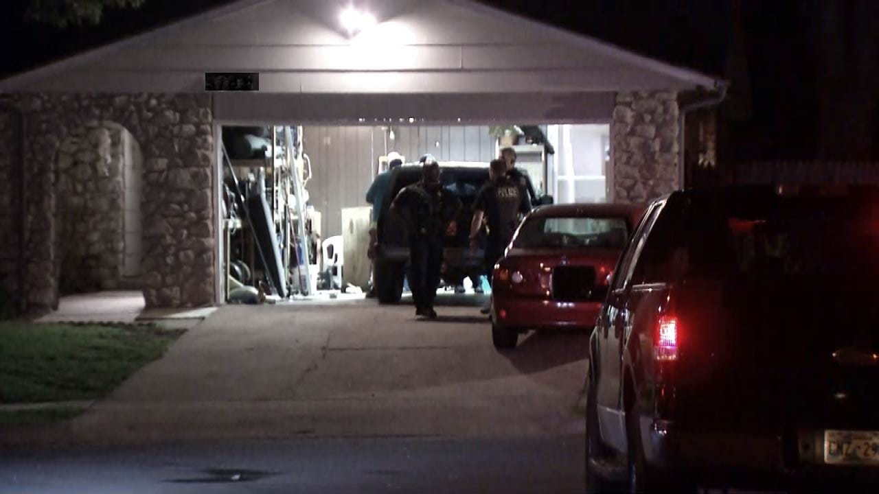 Tulsa Home Invasion, Robbery Suspects Sought