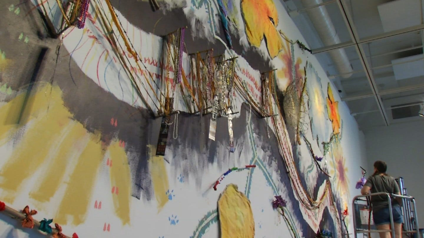 Downtown Tulsa Artwork Inspires Women In Recovery