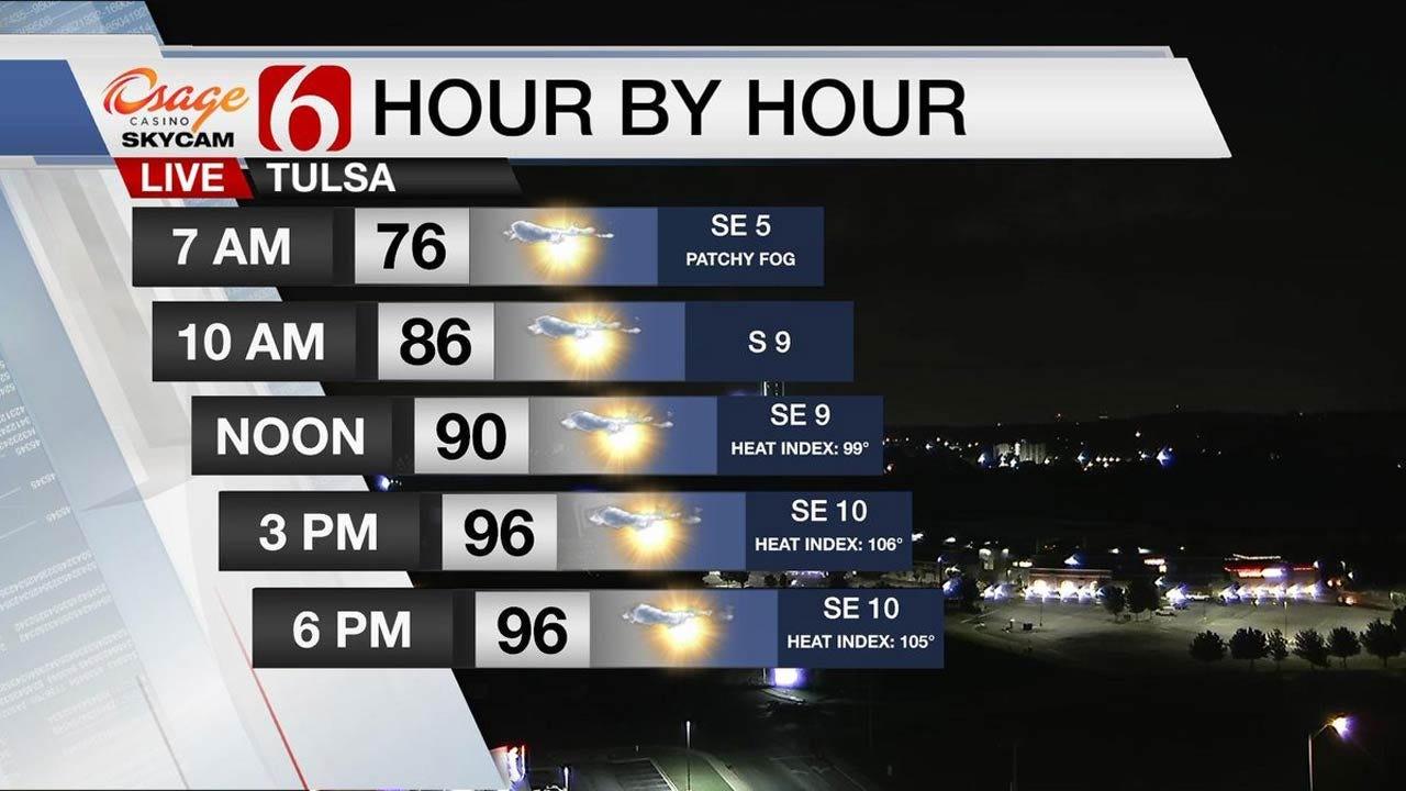 Heat Advisory For Much Of Oklahoma
