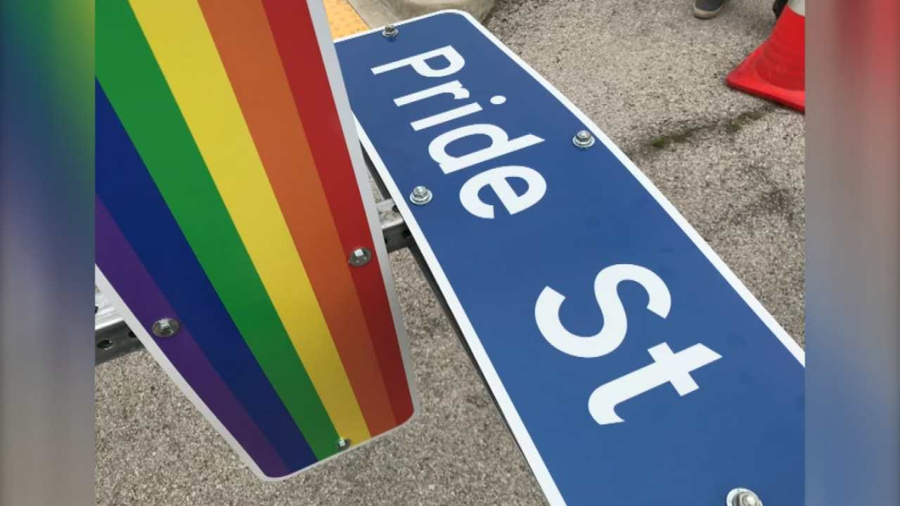 Tulsa Street Renamed Ahead Of Tulsa Pride Weekend