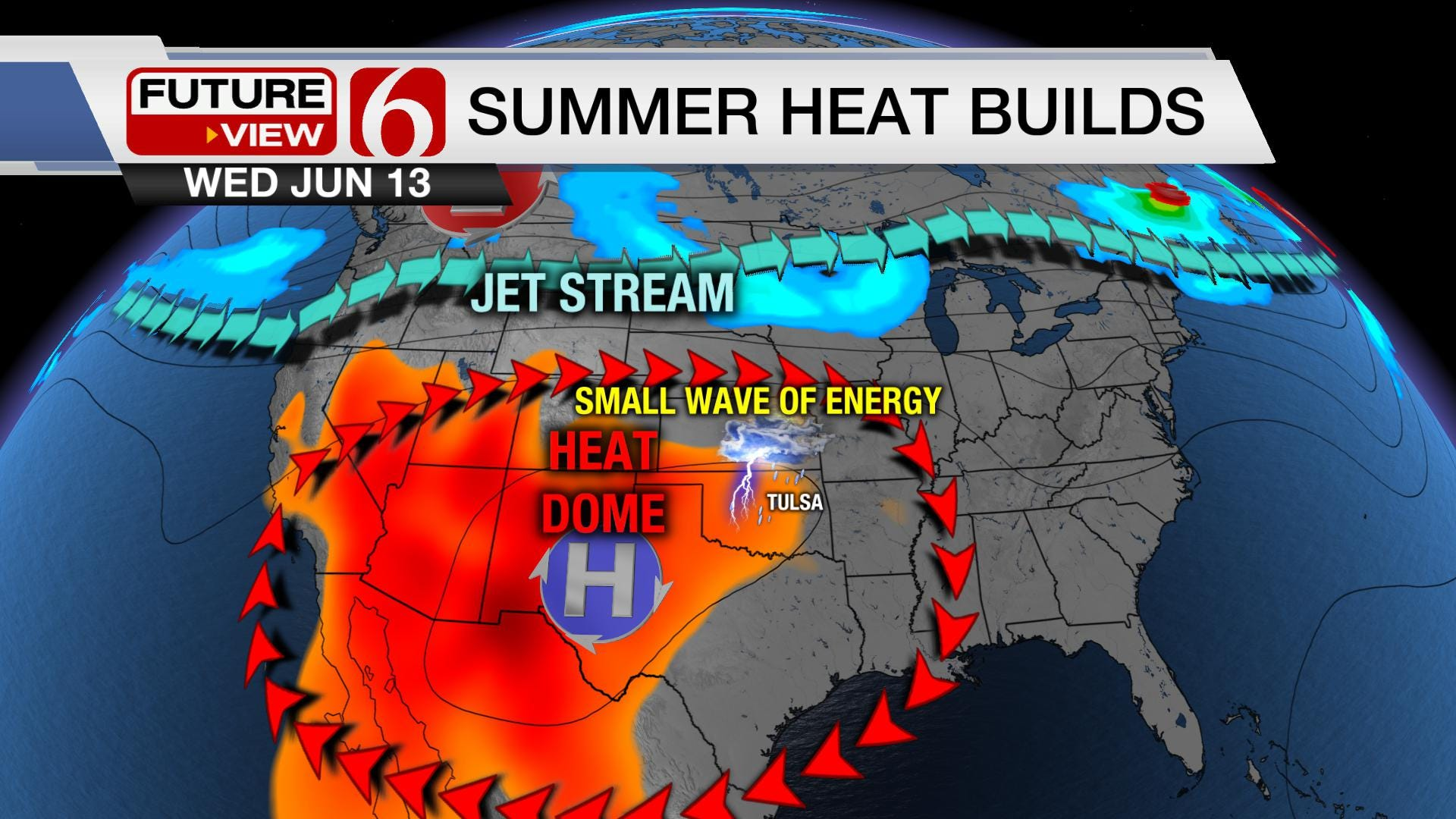 Potential Storms and Guaranteed Heat