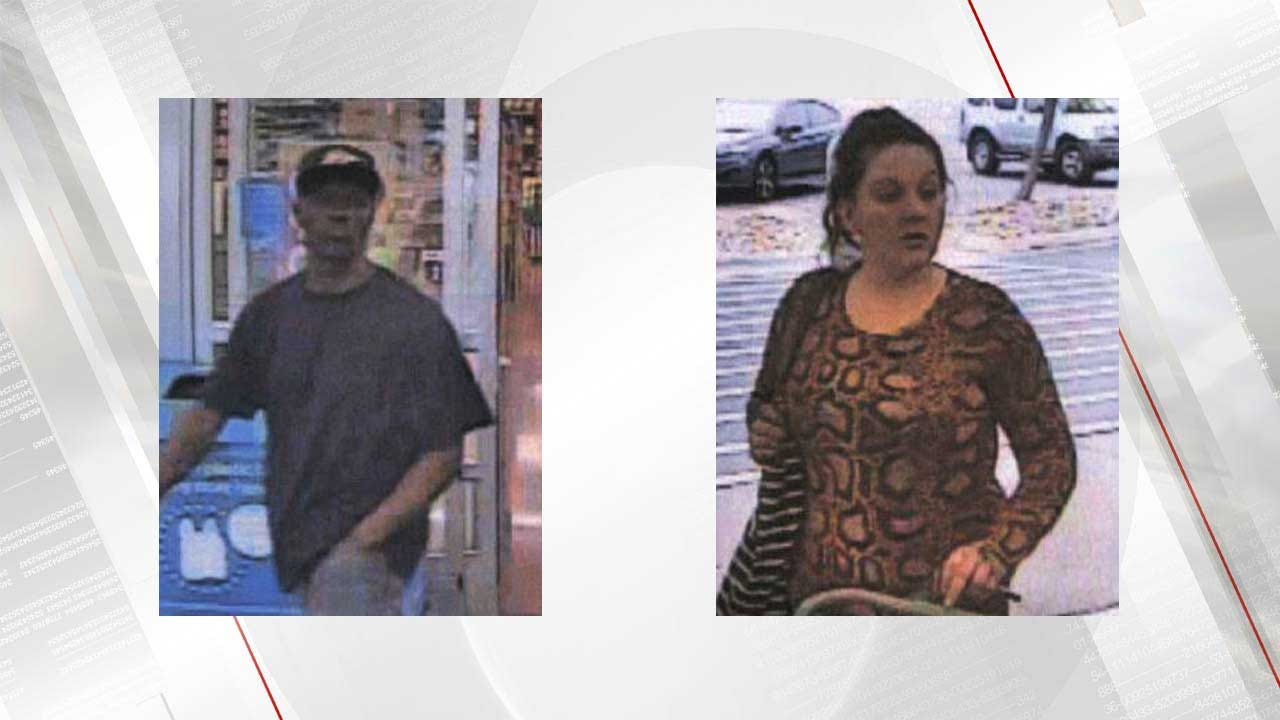 Tulsa Police Looking For Two In Auto-Theft