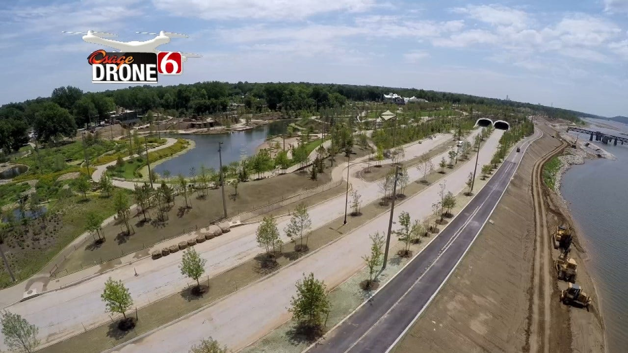 September 10th, Tulsa's Riverside Drive At Gathering Place To Reopen