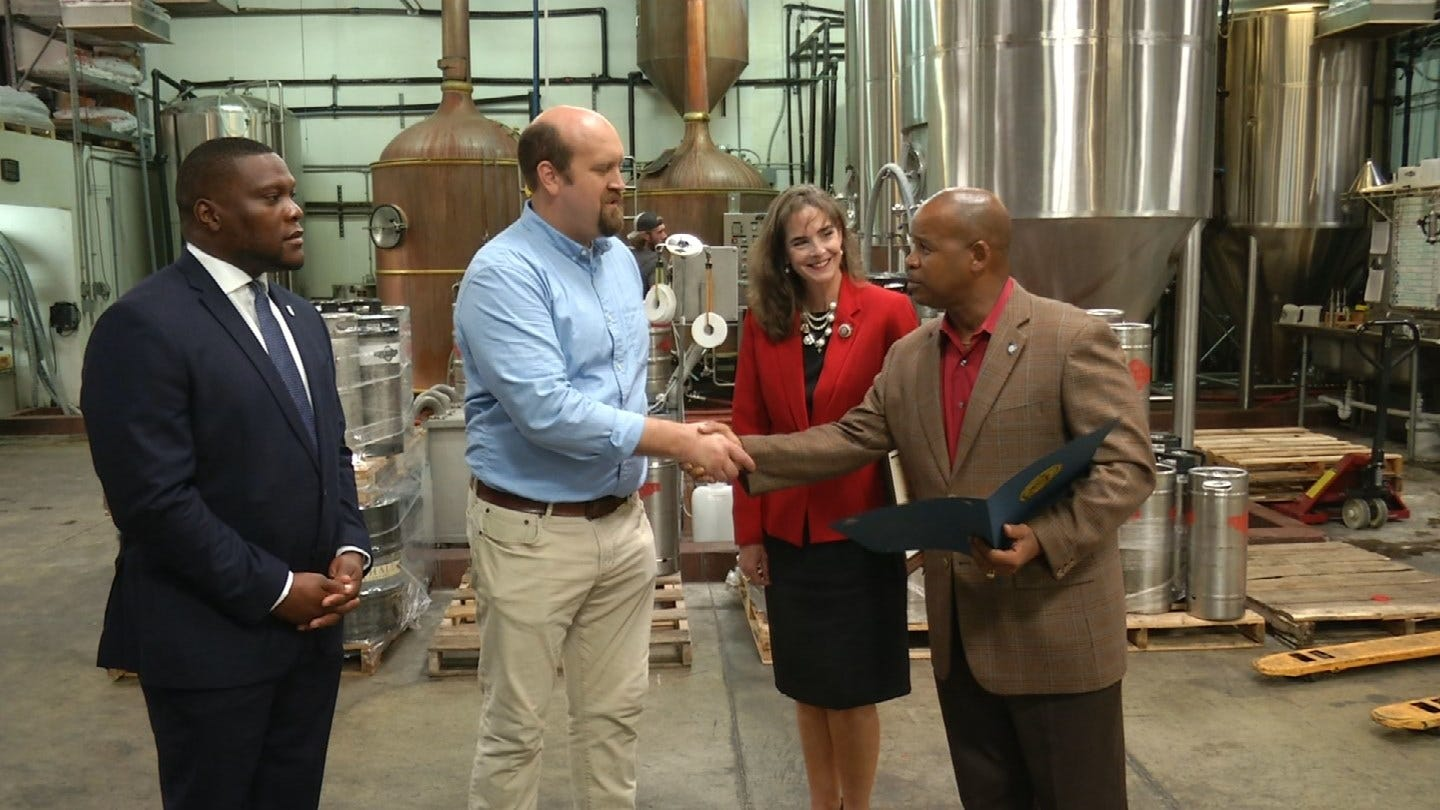Green Country Brewing Company Receives Entrepreneurial Excellence Award