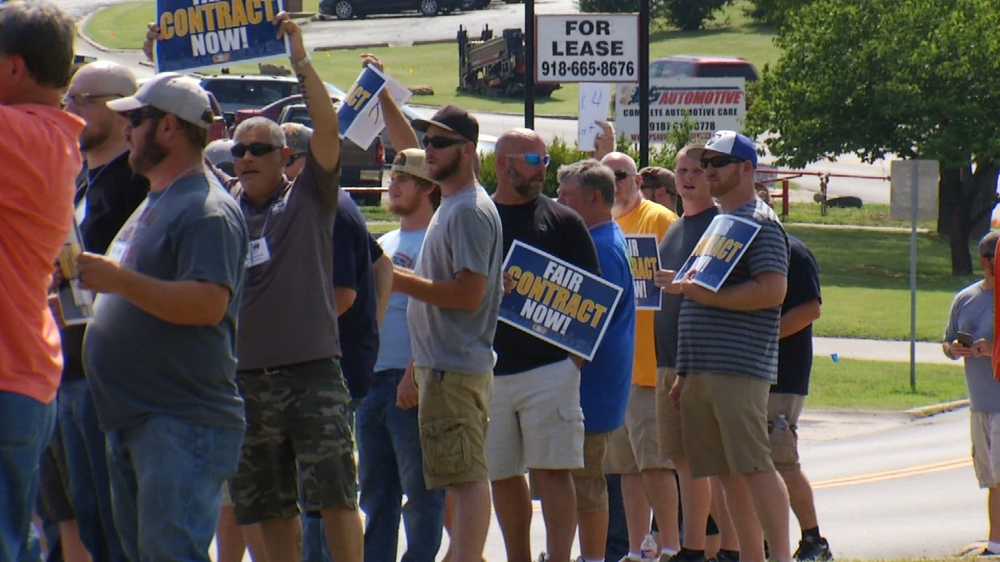 Strike Looming As BS&B Workers Enter 15th Day Of Demonstration