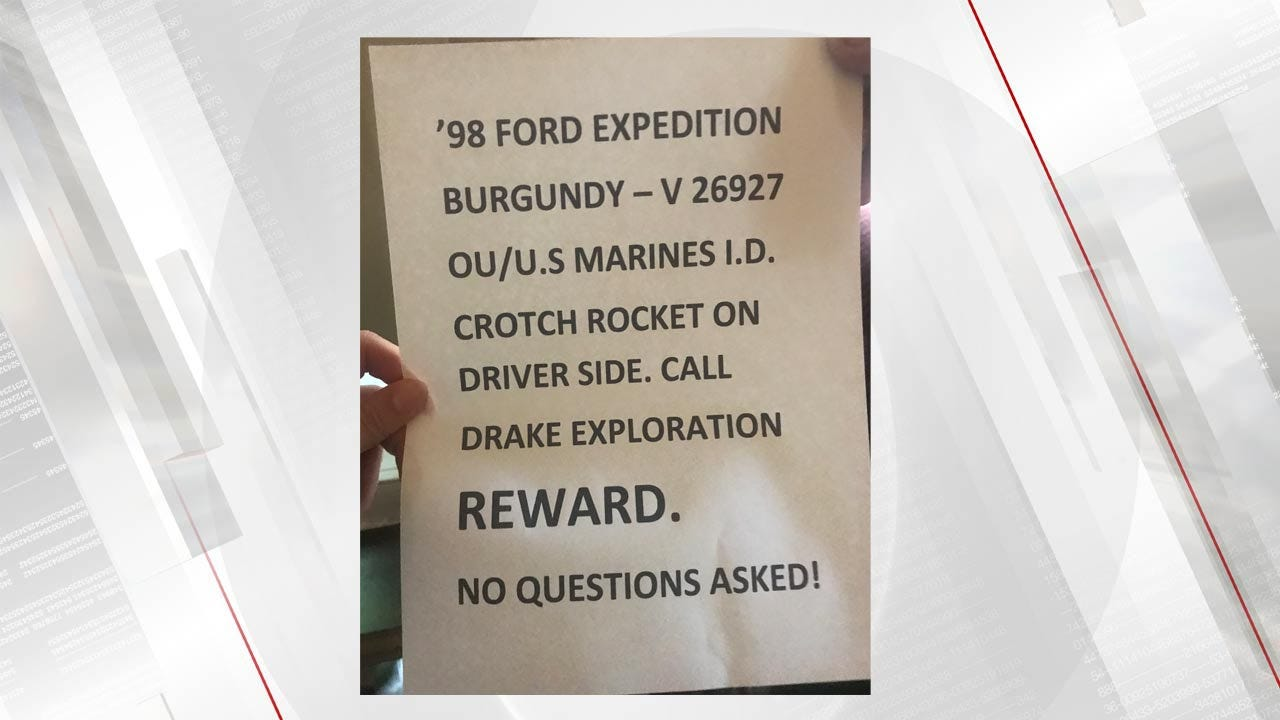 Tulsa Man Offering Reward For Stolen Truck