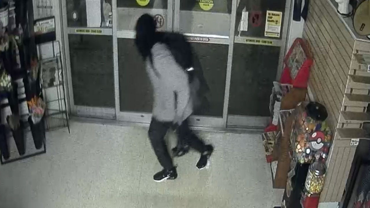 Tulsa Police Search For Grocery Store Burglars