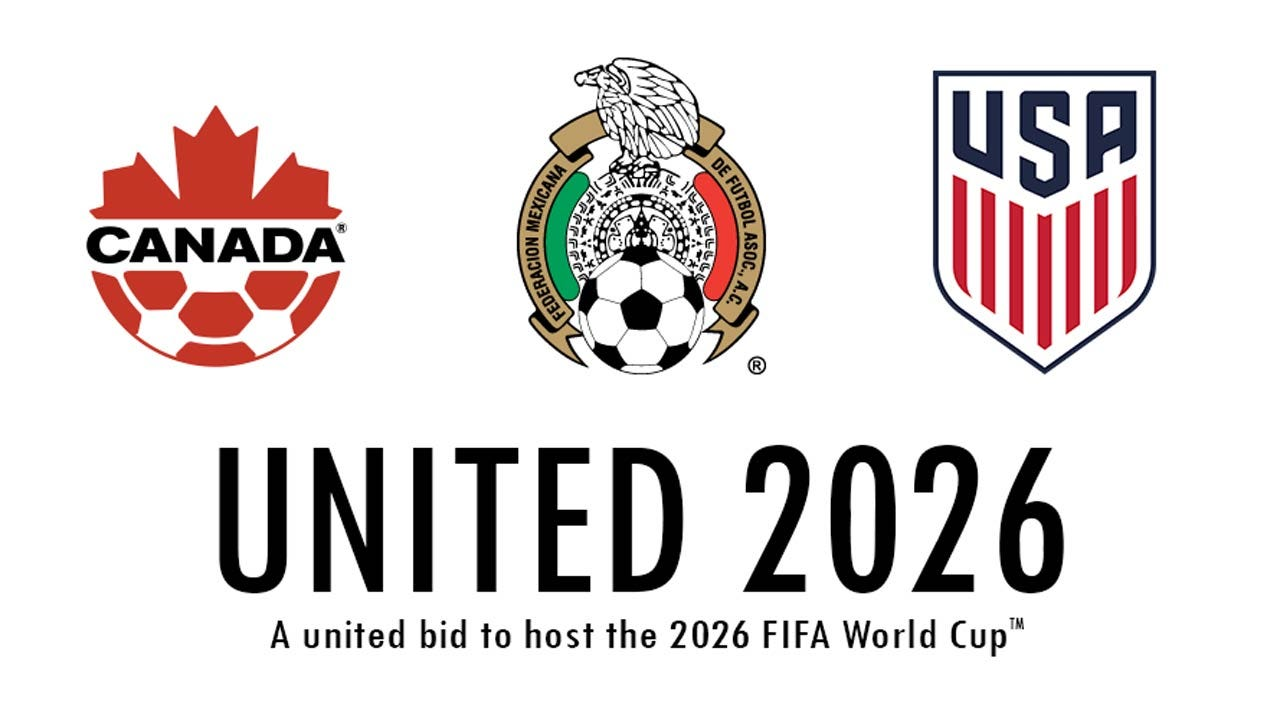 US, Canada & Mexico To Jointly Host 2026 World Cup