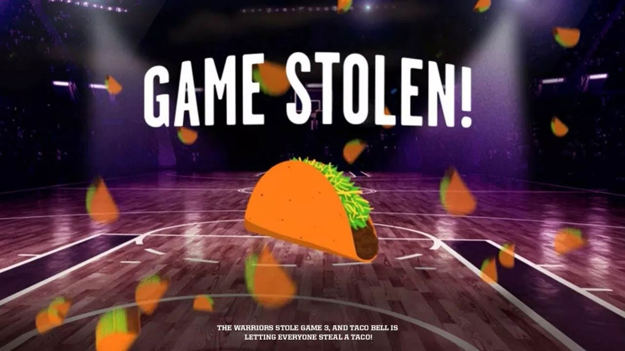 Wednesday, Taco Bell Giving Away Free Tacos