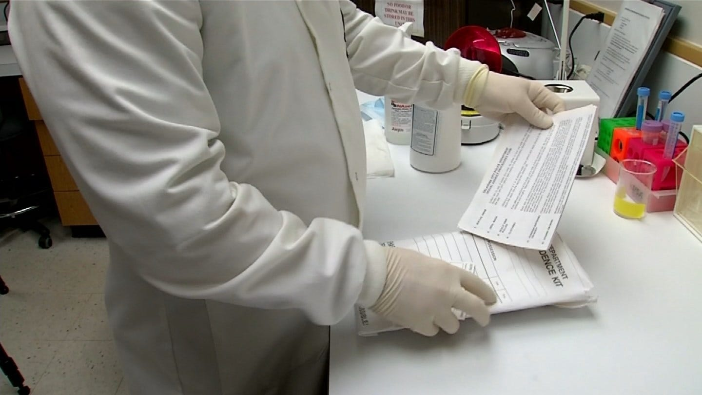 Oklahoma Task Force Suggests Allowing Victims To Track Rape-Kit Progress