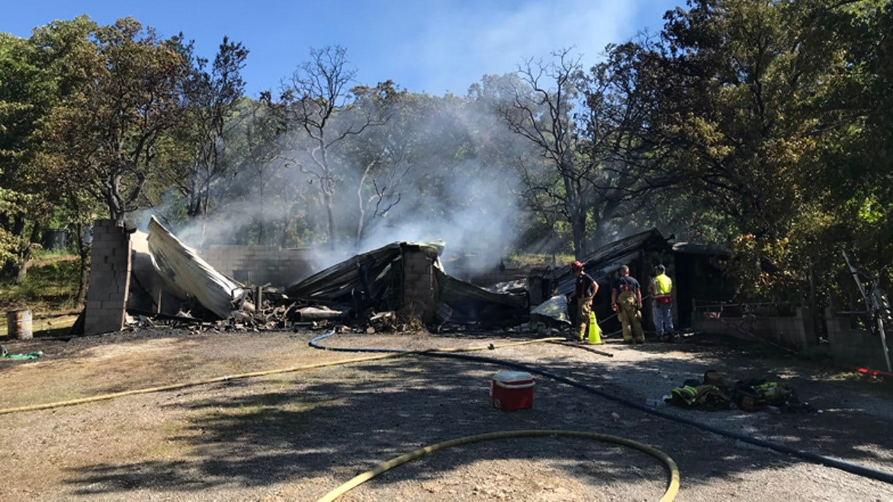 Berryhill Family Is Counting Their Blessings After Garage Fire