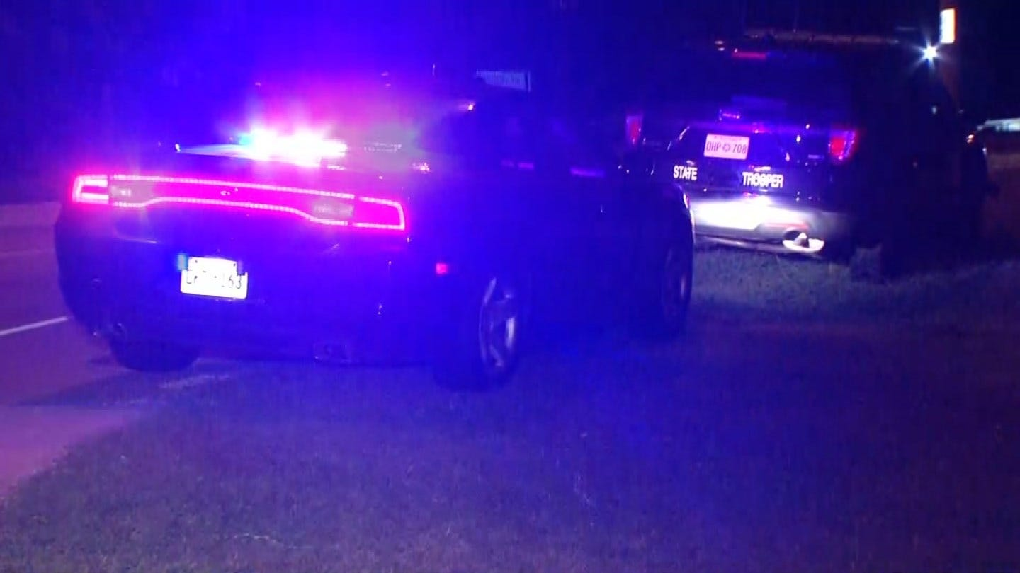 OHP: Traffic Stop Leads To Foot Chase, Fight, Shooting In Tulsa