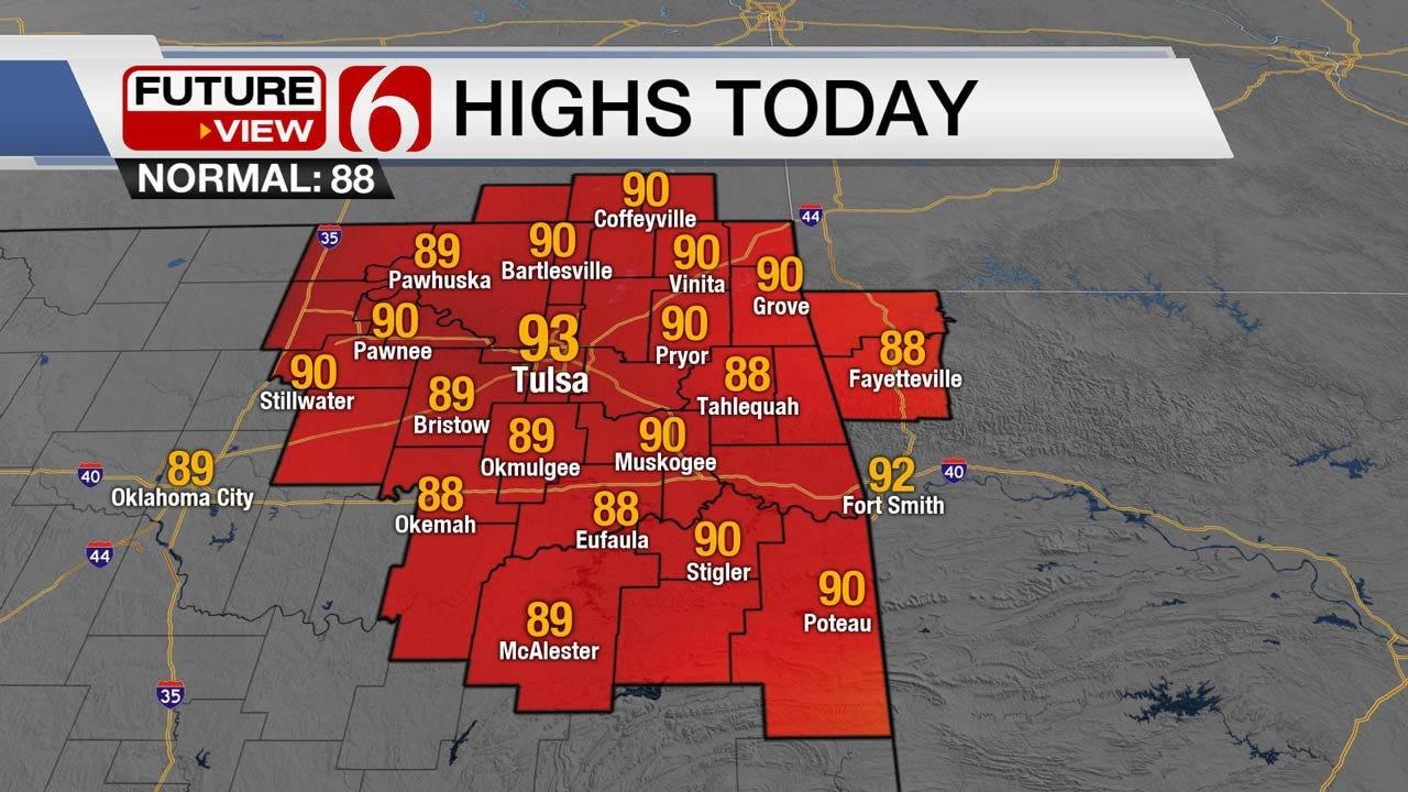 Good Chance Of Rain For Eastern Oklahoma This Week