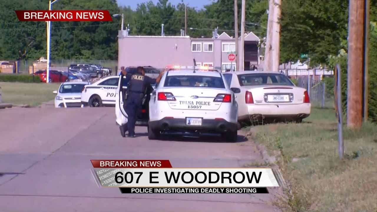 Man Taken To Hospital After Tulsa Shooting
