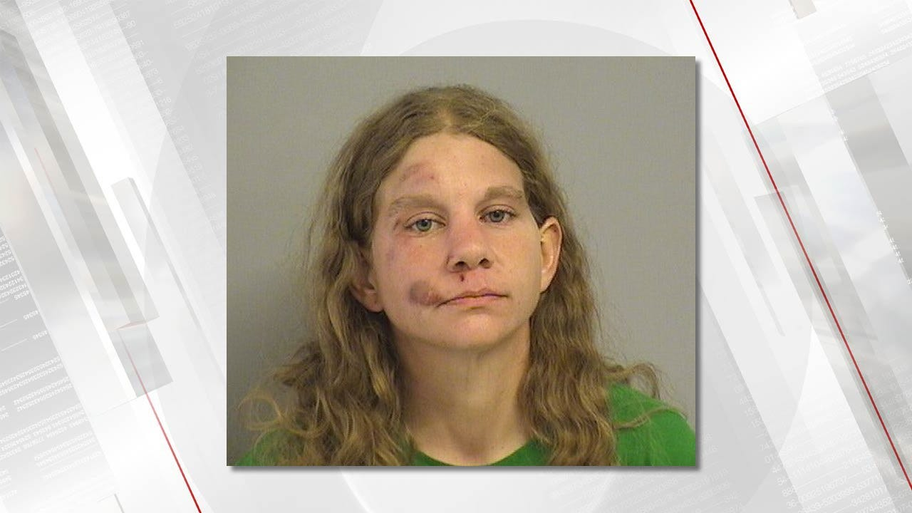 Woman Arrested For Throwing Things At Vehicles, Public Intoxication, Assaulting An Officer In Owasso