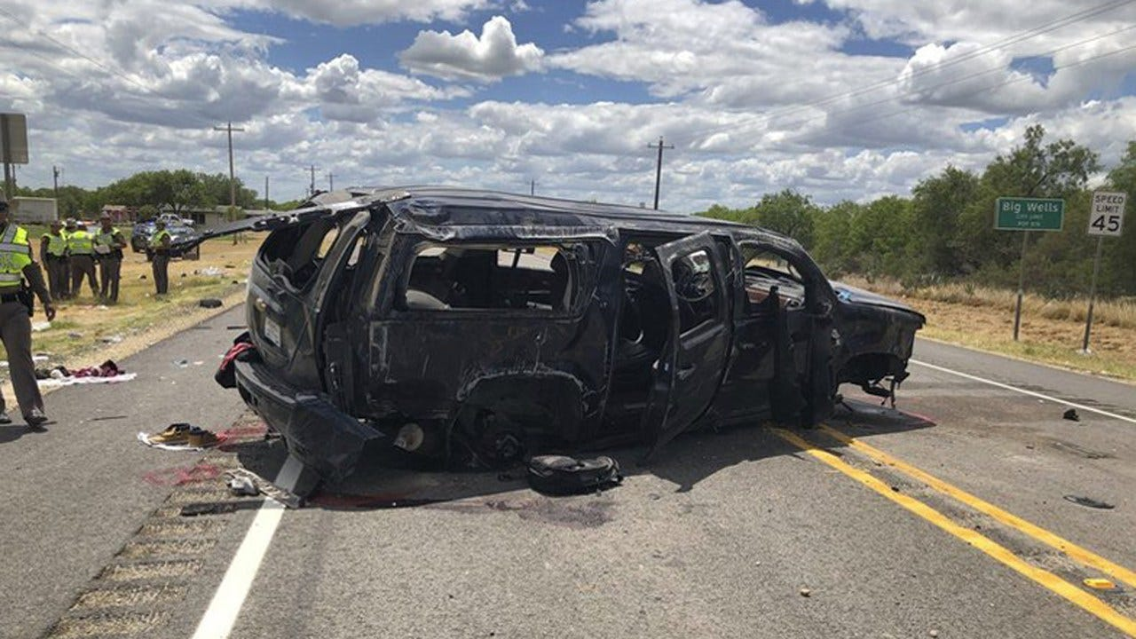 5 Charged In 'Smuggling Scheme' After Fatal Crash In Texas